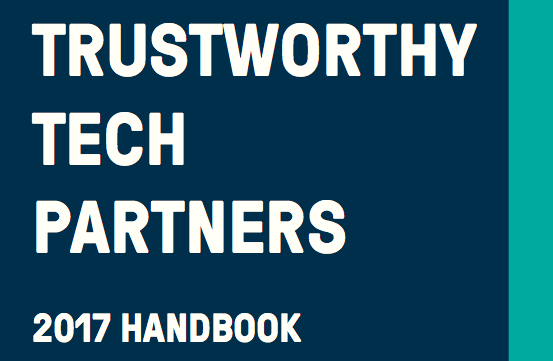 Doteveryone Trustworthy Tech Partners 2017 Handbook