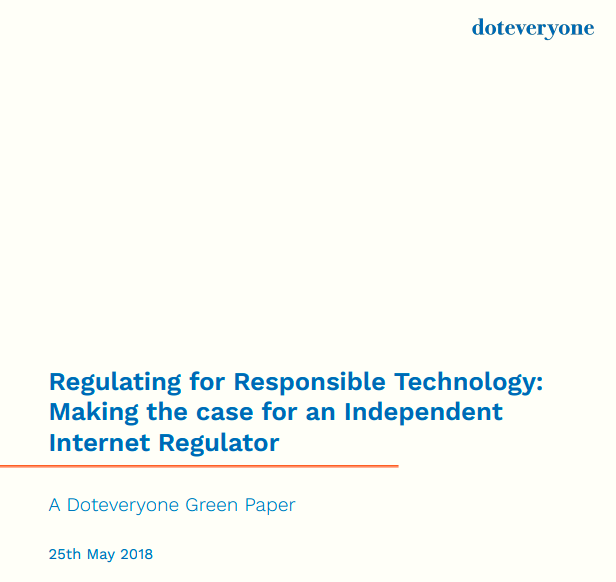 Regulating for Responsible Tech Report Cover