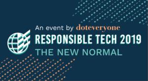 Responsible Tech 2019 Event Doteveryone