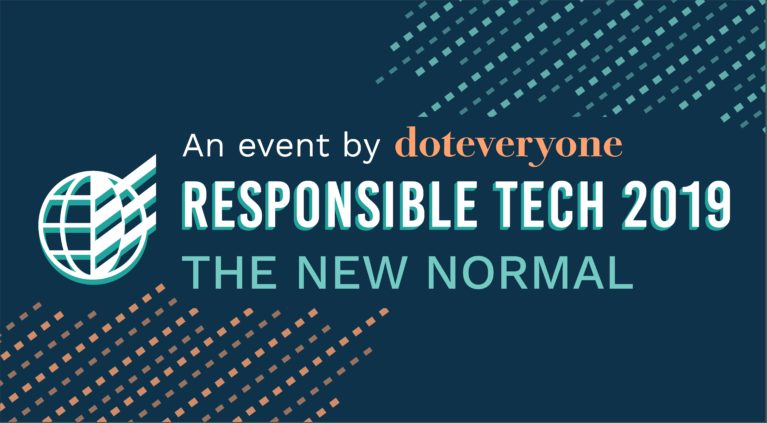 Responsible Tech 2019 Event Doteveryone