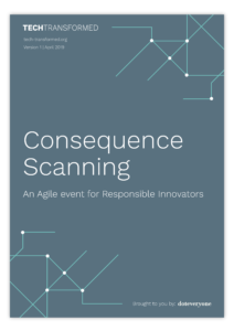 Consequence Scanning Manual Cover