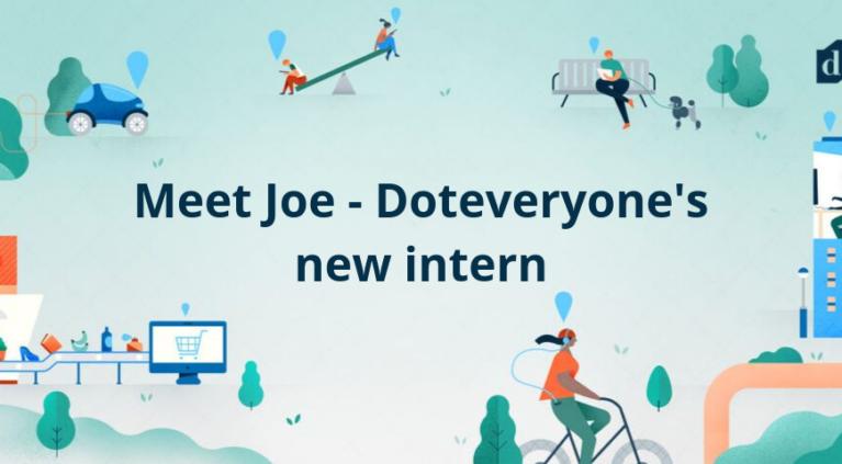 Meet Joe - Doteveryone's new intern