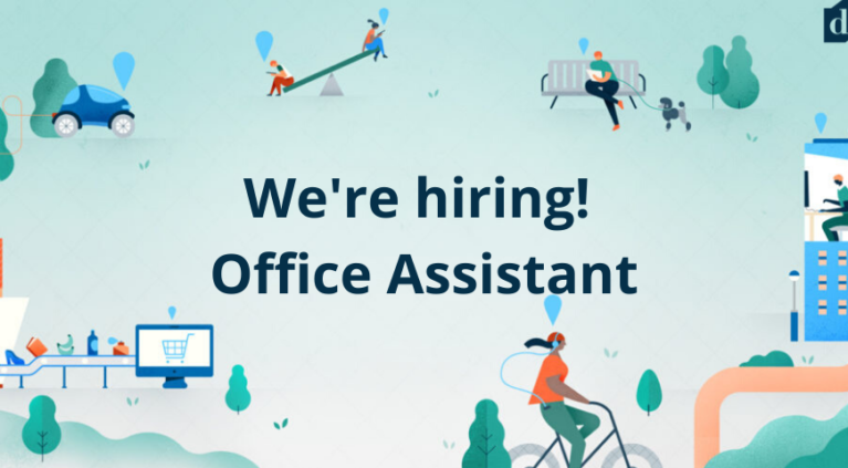 We're hiring! Office Assistant